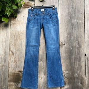 Hudson signature bootcut petite jeans